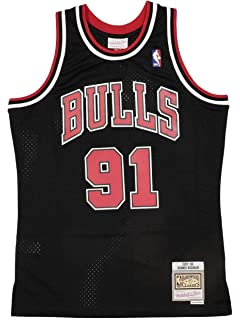 CCKWX Maillots pour Hommes Chicago Bulls # 91 Maillots