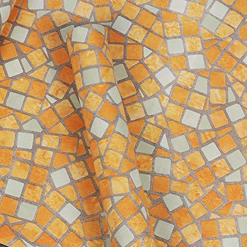 er Küche Wasserdichte Tapete Mosaik Tapete Küche Wasserdichte Tapete Bad Bad Selbstklebende Fliese Blau Küche Tapetenrolle ()