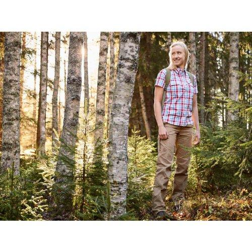 Fjällräven Damen Karla Trousers Lange Hosen Dark Grey
