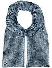 Hilfiger Denim Two Tone Knitted Scarf, Echarpe Homme, Bleu (Indigo 430), Taille Unique