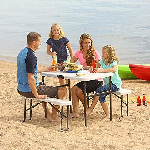 Lifetime 80352 42 in (107 cm) Recreation Folding Table Set