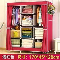 Amazon.it: armadio camera da letto - Rosso / Camera da letto ...