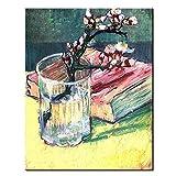 TTKX@ Hand Bemalt Abstrakten Tasse Blume Ölgemälde auf Leinwand Große Handgemachten Blumen Malerei Bilder Moderne Hauptdekoration Wandkunst