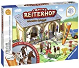 Ravensburger tiptoi Tier-Set Reiterhof Spiel, ab 4 Jahren, Interaktives Tier-Set Reiterhof mit drei Ravensburger tiptoi Pferden