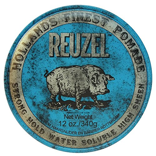 Reuzel Pomade Blue Strong Hold High Sheen - 340 G