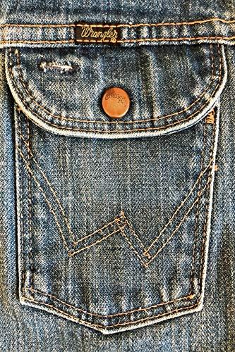 Wrangler Kinder-jeans (WRANGLER: 6x9 vintage Wrangler denim jeans journal for cowboys cowgirls denimheads)