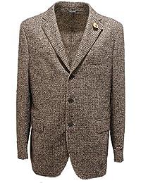 e Abbigliamento Giacche cappotti Uomo Amazon Lardini it qFwtxRO