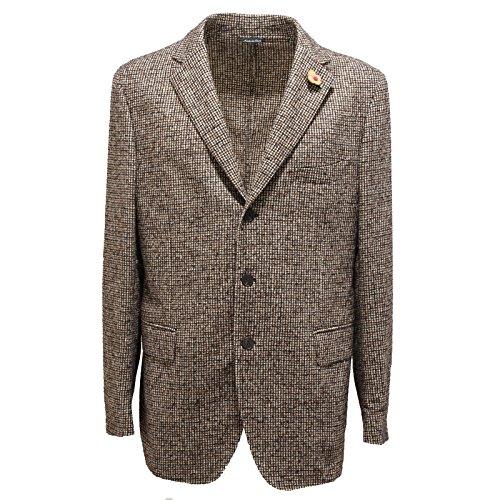 3119m-giacca-uomo-marrone-lardini-cotone-giacche-jackets-coats-men-54