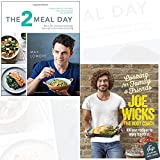 The 2 Meal Day and Cooking for Family and Friends [Hardcover] 2 Books Collection Set With Gift Journal - Burn fat and boost energy through intermittent fasting, 100 Lean Recipes to Enjoy Together