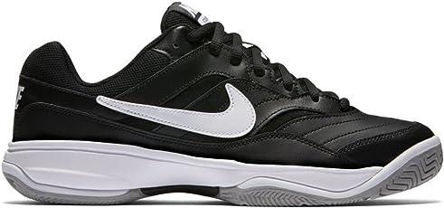 Nike Men's Court Lite Black Tennis Shoes