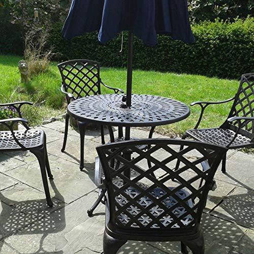 Lazy Susan – MIA 90 cm Gartentisch mit 2 Stühlen - 8