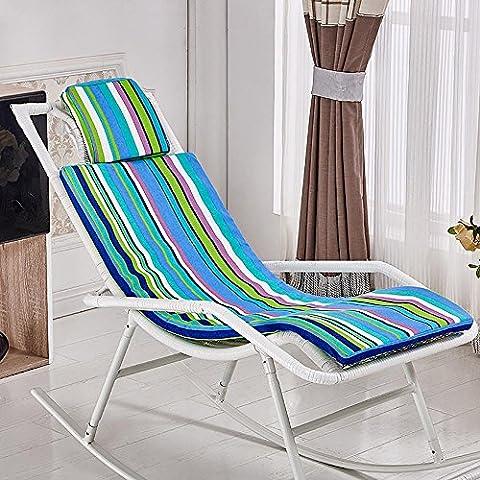 New day-Rattan sedia a dondolo che si trova sedia cuscino sedia a dondolo cuscino culla sedia cuscino , e