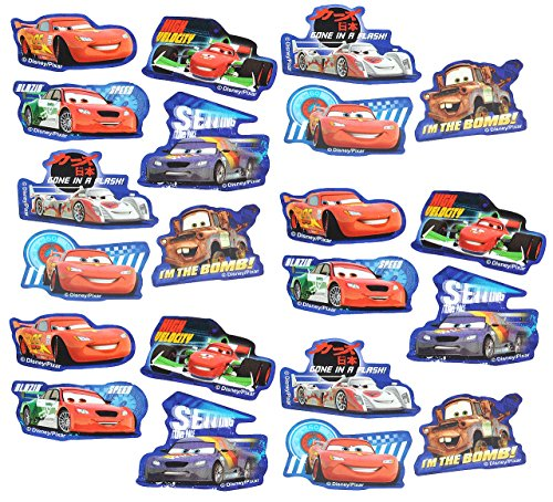 alles-meine.de GmbH 63 tlg. Set _ Aufkleber / Sticker -  Disney Cars Lightning McQueen  - Selbst..