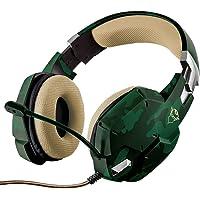 Trust Cuffie Gaming GXT 322C Carus con Microfono Flessibile, 3.5 mm Jack, Filo, Over Ear, PC, PS4, PS5, Xbox Series X…