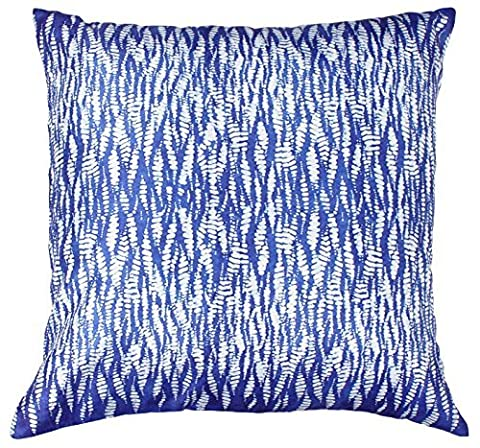 SouvNear 45x45 Centimeter Cushion Cover with Zipper - Decorative Blue