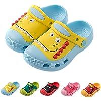 Kids' Childrens Clogs Cute Garden Shoes Boys Girls Comfort Slip On Indoor Slippers Soft Walking Beach Sandals Outdoor Toddler/Little Kid