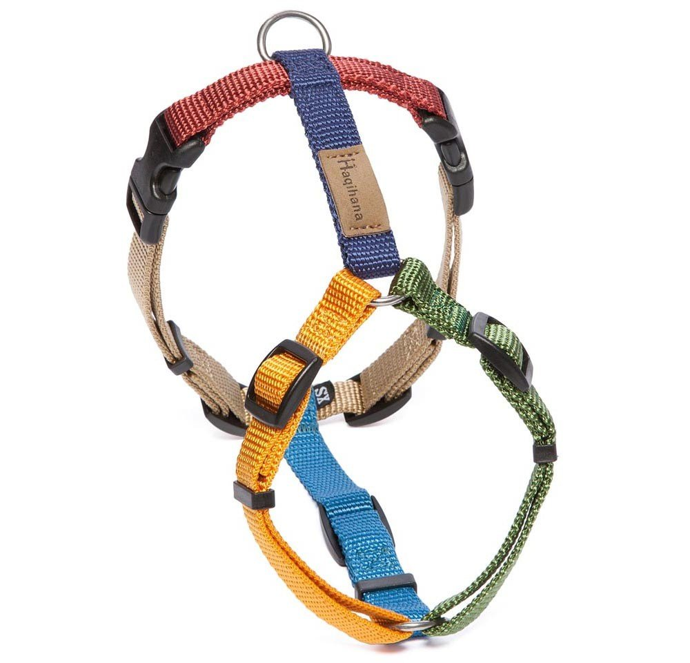 Haqihana Multicolour Dog Harness XXS