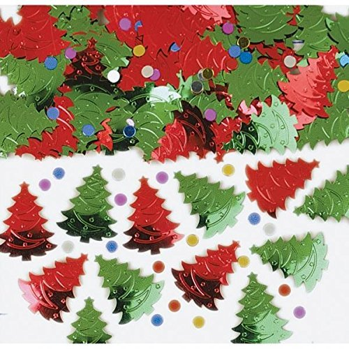 s Trees Table Confetti Sprinkles 14g by Amscan by Amscan (Red Sprinkles)
