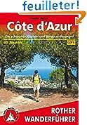 Côte d'Azur (en allemand) - Côte d'Azur. Rother Wanderführer.