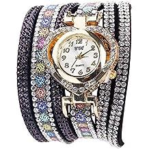 43beb0a32fc Montre Bracelet Femmes Pas Cher Oyedens Femme Fille Chic Casual Analogique  Quartz Femmes Strass Montre Bracelet