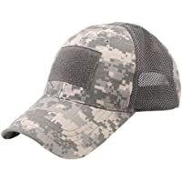 WOWOWO Outdoor Casual Caps Camouflage Adjustable Cap Mesh Military Army Airsoft Fishing Hunting Hat