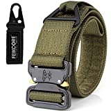 Tactical Belt Heavy Duty Gürtel einstellbar Military Style Nylon Gürtel mit Metallschnalle Molle System 1,75