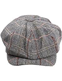 Femmes Chapeau d'Automne Hiver Coton Béret Gavroche Casquette Boulanger Newsboy Cap Mode