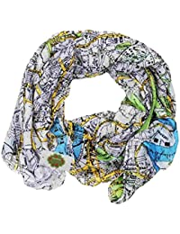 New with Tags London Map Print Scarf Women Scarves Large Shawl