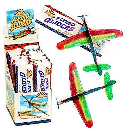 6 x Flying Glider (aliante) Aerei Bambini