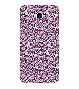 ifasho Designer Phone Back Case Cover Samsung Galaxy On8 Sm-J710Fn/Df ( Om Trance Look Shiva OM )