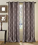 Deco Window 2 Piece Eyelet Curtain Ganga...