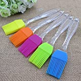 Master Royal Backncook Tools Silicon 18Cm Cooking Baking Oil Brush (Multicolour) - Pack Of 2