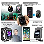 Bluetooth Smart Watch Q18 Support Sleep Monitor Pedometer Sweatproof Touchscreen Smartwatches SHFY With Camera Compatible IOS IPhone Android Phones Wearable Equipment For Men Women Kids Boys Girls