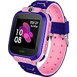 Smart Watch per Bambini con Posizionamento LBS - SOS Smartwatch Anti-Perdita Compatibile con Android e iOS con Chat Vocale Gi