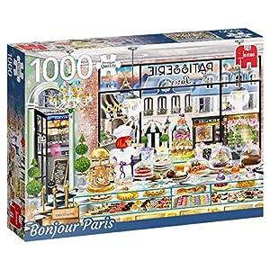 Premium Collection Wanderlust Collection, Bonjour Paris 1000 pcs Puzzle - Rompecabezas (Bonjour Paris 1000 pcs, Puzzle Rompecabezas, Ciudad, Niños y Adultos, Niño/niña, 12 año(s), Interior)