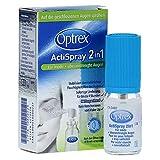 Optrex ActiSpray 2in1 für müde + überanstrengte Augen Spray, 10 ml