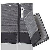 Cadorabo - Book Style Schutz-Hülle für LG G2 case cover