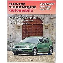 Revue technique automobile Volkswagen Golf Diesel 4e génération depuis 1998 SDi TDi 90 et 110 ch
