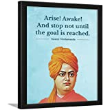 Chaka Chaundh - Suitable Swami Vivekananda Motivational Quotes frames for OFFICE & STUDENT- Framed Posters with Frame - Leade