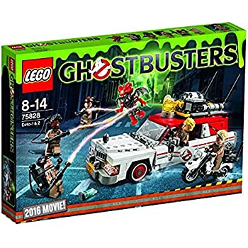 LEGO 75828 Ghostbusters Ecto-1 and 2 Building Toy