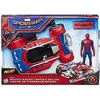 Marvel - Figura de Spiderman web city, vehículo, 15 cm (Hasbro B9703EU4)