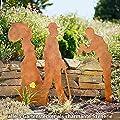 Pötschke Ambiente Gartenstecker Begegnung Anno 1900 Mann zieht Hut von Pötschke Ambiente auf Du und dein Garten