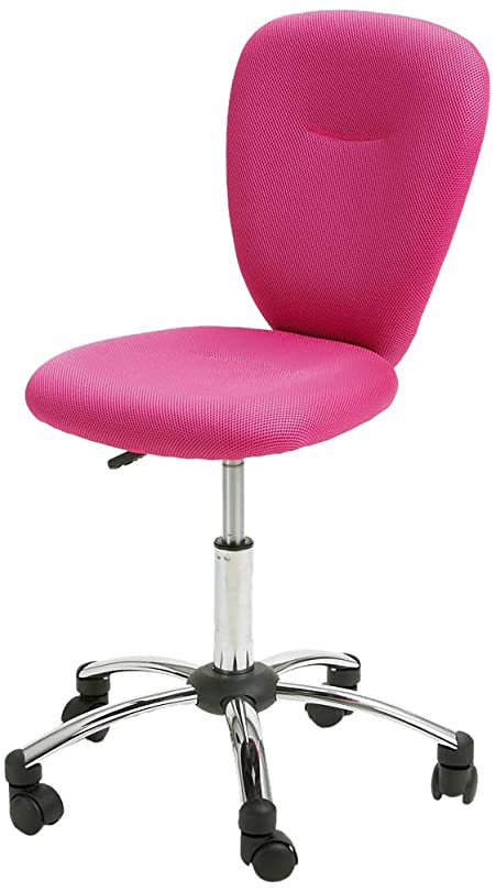 Interlink Pezzy Pink Office Chair, Pink