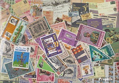 Brunei 100 différents Timbres (Timbres pour Les collectionneurs) | Magasiner