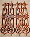 Antikas - Jugendstil Gitter als Balkongitter, Treppen Balkon Geländer, Treppenstäbe, Zaun von Antikas - Du und dein Garten