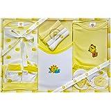 EIO Kidi Wav 13 Piece Unisex Baby's Gift Sets (Yellow)
