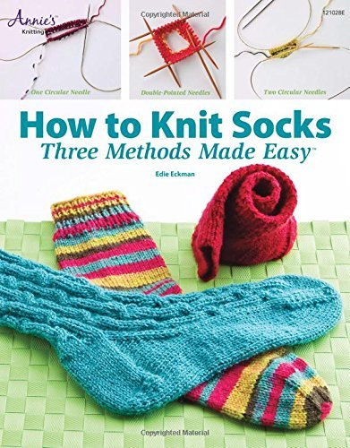 How to Knit Socks: Three Methods Made Easy by Jeanne Stauffer (2009-06-25)