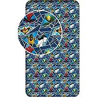 Jerry Fabrics 23399 Sábanas Ajustables para Niños, Algodón, Multicolour, 200x90x25 cm