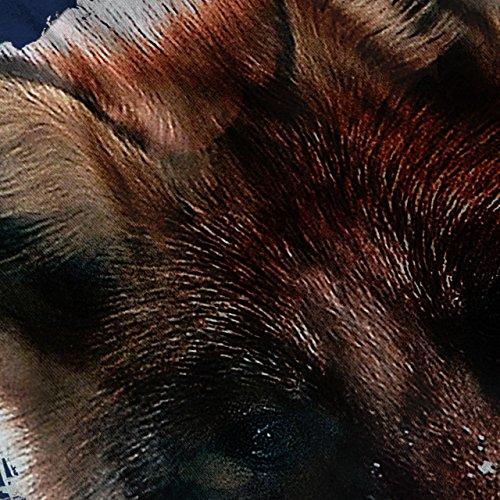 Wild Fuchs Gesicht Niedlich Tier Rot Schnauze Damen S-2XL Muskelshirt | Wellcoda Marine