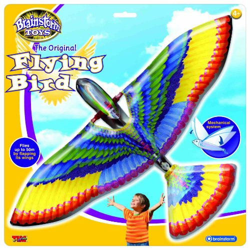 Brainstorm Toys - Uccello volante, apertura alare 400 mm